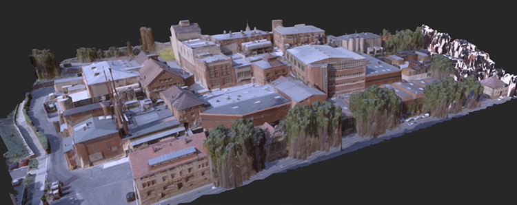 How do people perceive buildings in virtual 3D cities?