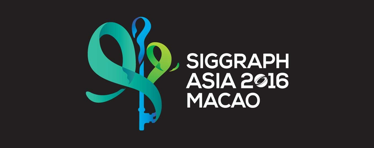 At SIGGRAPH Asia 2016 in Macao