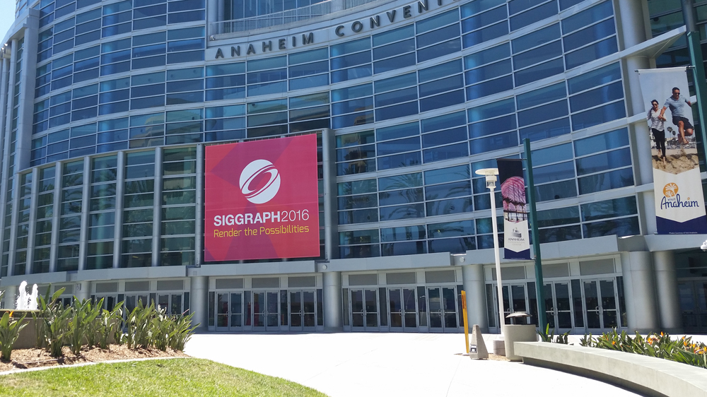 Siggraph 2016 in Anaheim, USA.